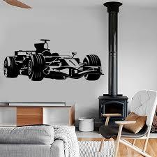<b>YOYOYU</b> Racing <b>Vinyl wall sticker</b> Kids Room Kart Race Formula 1 ...