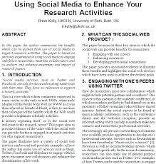 Examples of abstract for research paper   Advantages of Selecting      Stylish Article