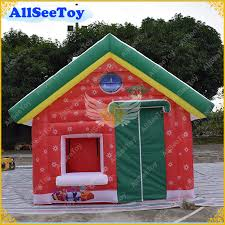 <b>Fast Delivery Inflatable Santa</b> House for Christmas Holiday ...