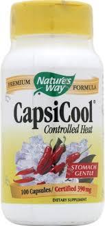 Nature's Way <b>CapsiCool Controlled Heat</b> -- <b>100</b> Capsules - Vitacost