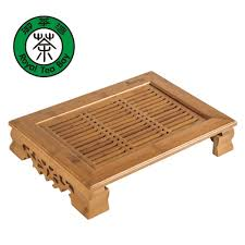 drinkware kung fu tea set bamboo tea tray table tea tools high quality build in chinese bamboo furniture