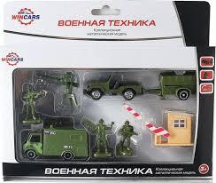 <b>Игровой набор</b> военной техники <b>Wincars</b> 30815B — купить в ...