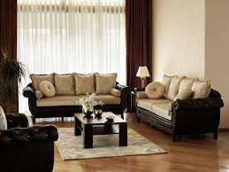 an elegant living room with button tufted sofas and ornate luxurious cushions the beautiful small livingroom