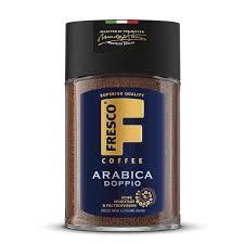 <b>Кофе Fresco Arabica</b> Doppio, сублимированный с <b>молотым</b>, 100г ...