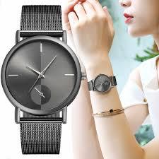 2019 Women Watches <b>New Fashion</b> Top Brand Luxury Steel ...