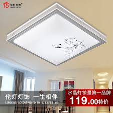 online get cheap fluorescent ceiling light lamps modern brief fashion print lamp cover led fluorescent ceiling cheap ceiling lighting