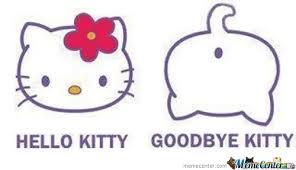Hello Kitty by fr34k - Meme Center via Relatably.com