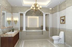 small bathroom chandelier crystal ideas: new classical bathroom chandeliers alongside white column combined with laminate flooring also marble top cabinet