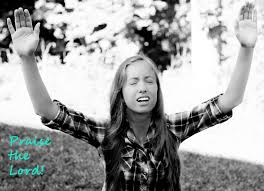 Image result for pictures of women praising God