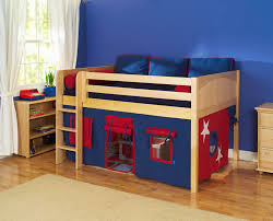 play fort low loft beds and loft beds on pinterest bunk beds kids loft