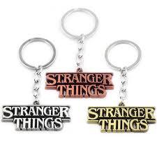 Movie Stranger Things <b>Keychains</b> High Quality lamp Bulb <b>Letter</b> ...