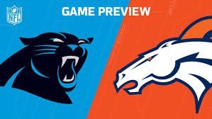 Image result for carolina vs broncos game preview
