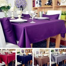 rectangular dining table cover cloth knitted vintage: new soild color linen tablecloths for wedding rectangle table cover home decor table cloth colors home