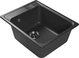 <b>Кухонная мойка Lex Nemi</b> 510 Black купить в интернет-магазине ...