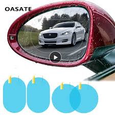 Car Rain <b>Film Rearview Mirror</b> Protective <b>Film</b> Anti Fog Membrane ...