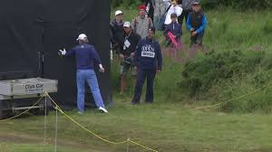 brandt snedeker got angry and slammed a tv tower door the big lead