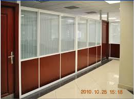 08 aluminum office partitions
