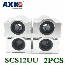 <b>2019</b> Rolamento Axk <b>High Quality 1pcs</b> Sc12uu Scs12uu Linear ...
