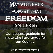 May we never #forget that #freedom isn't #free... Our deepest ...