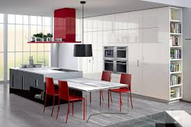 beautiful kitchen set in modern design with dining table set and red chair kitchen tables chairs modern black white modern kitchen tables
