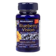 Holland & Barrett Blueberry <b>Vision 60</b> Capsules | Holland & Barrett