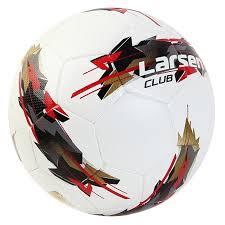 Купить футбольный <b>мяч Larsen Club №5</b> white, цены в Москве на ...