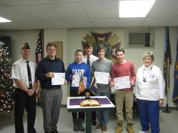 randolph vfw honors student winners of patriotic essay contest randolph nj randolph memorial post 7333 veterans of foreign wars presented essay contest awards at their post meeting on tuesday dec 16