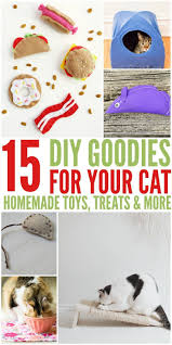 awesome homemade cat toys treats 15 diy goodies for your cats make your cat lovers 27 diy