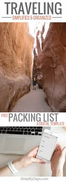 simplify traveling a packing list template grab your packing list template below are you ready for your next adventure from the big to the small every trip