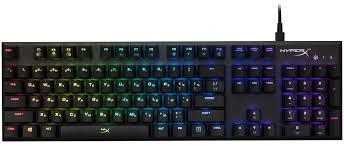 Обзор игровой механической <b>клавиатуры HyperX Alloy</b> FPS RGB