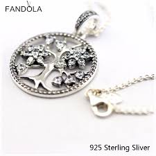 <b>CKK Authentic 925 Sterling</b> Silver Jewelry Family Tree For Women ...