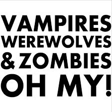 Image result for vampire werewolf zombie