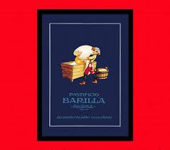 get print barilla pasta poster vintage food 128270zoom