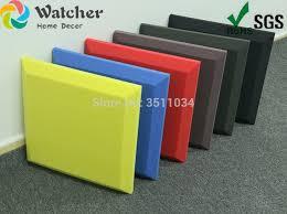 1BOX <b>10pcs</b> 50x50cm 2.5 Square Meters Acoustic <b>Foam</b> Treatment ...
