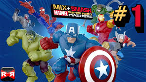 Image result for Mix+Smash Marvel Mashers v1.5 Mod Apk + Data