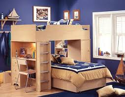 cheap kids bedroom ideas: cheap kids bedroom sets blue wall color with wood furniture material with window