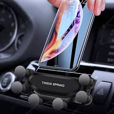 <b>Gocomma Auto-clamping Car</b> Gravity Phone Holder | Gearbest UK
