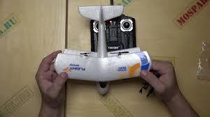 Обзор <b>радиоуправляемого</b> микро <b>самолета</b> The Glider Aircraft от ...