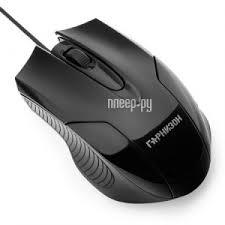 <b>Мышь</b> Гарнизон GM-<b>210 Black</b>