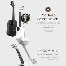 Global Xiaomi <b>Populele 2</b> Ukulele <b>23 Inch</b> LED Smart Ukulele ABS ...