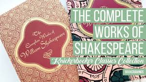 The <b>Complete Works</b> of William Shakespeare   Knickerbocker <b>Classics</b>