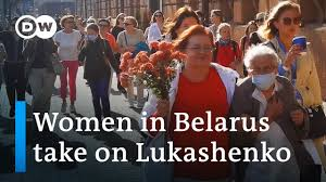 <b>Belarus</b> protests: How women <b>stand</b> up to Lukashenko | Focus on ...