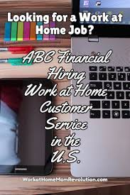 best ideas about job offer career resume and home based jobs abc financial hiring virtual agents