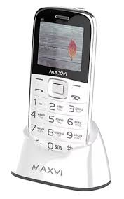 Мобильный <b>телефон MAXVI B6</b> White — купить в интернет ...