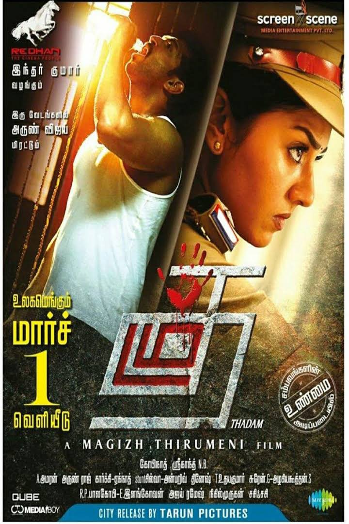 Download Thadam 2019 Hindi Dubbed 480p HDRip