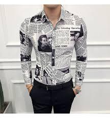 Mega Sale #888f - Fashion Casual Men's <b>Long</b>-sleeved Shirt <b>Spring</b> ...