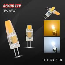 Mini <b>G4 LED</b> Lamp <b>COB Led</b> Bulb 3W 6W DC / AC <b>12V LEDs g4</b> ...