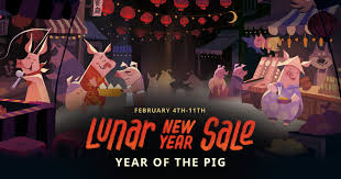 Steam :: Steam Blog :: The 2019 Lunar New Year Sale is here!