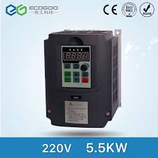 For Russian CE 220v 5.5kw 1 phase input and 220v 3 phase output ...