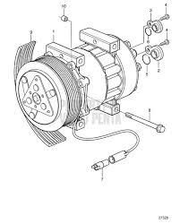 volvo penta exploded view schematic ac compressor tad1150ve on simple ac schematic